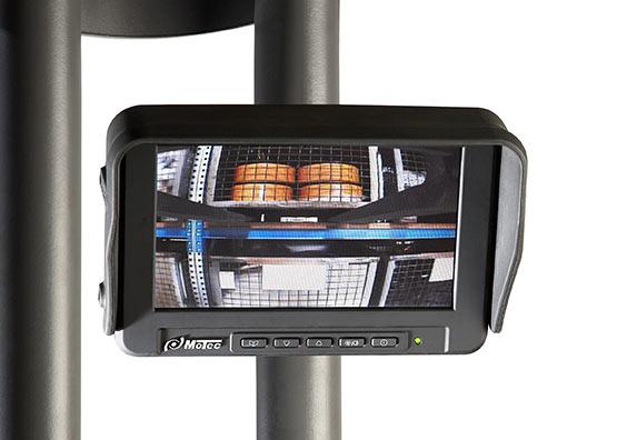 sistema de cámaras para carretillas elevedoras